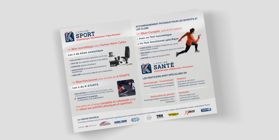 K Santé-Sport depliants